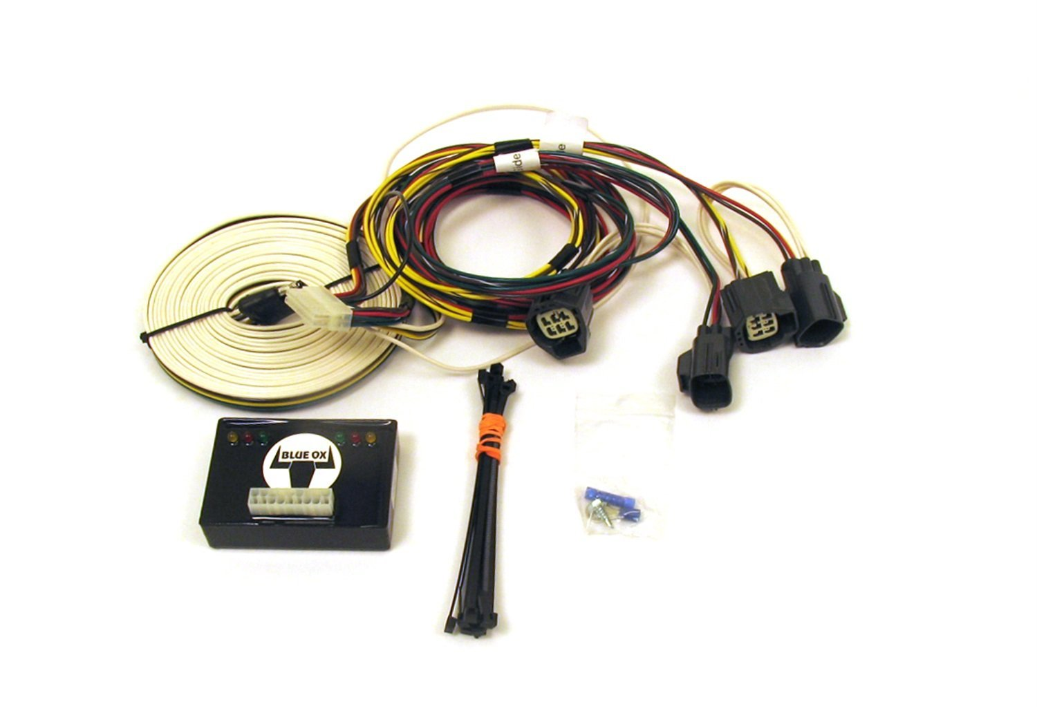174010 blue ox ez light wiring harness kit for jeep rubicon wrangler bx8 blue ox wiring harness at reclaimingppi.co