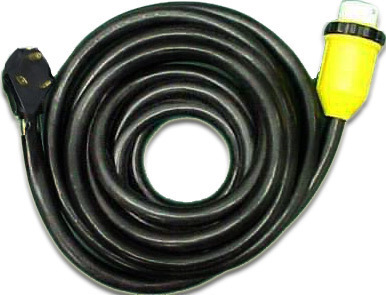 Rv Marine Power Cord 40 30 Amp With Marinco Hubbell