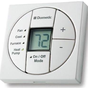 Dometic 3313189 049 White Single Zone Thermostat Heat Strip