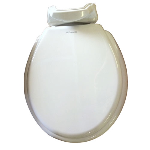 Dometic 310 Wood Replacement Toilet Seat Cover Bone 385311940 -