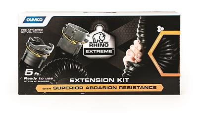 Camco Rhinoextreme Rv Sewer Hose Extension 5 39865 8 89