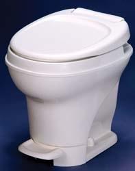 Thetford Foot Flush Low Profile White Aqua Magic V