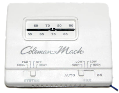 Coleman air conditioner hc thermostat wall mount 4899 coleman air conditioner hc thermostat wall mount asfbconference2016 Image collections