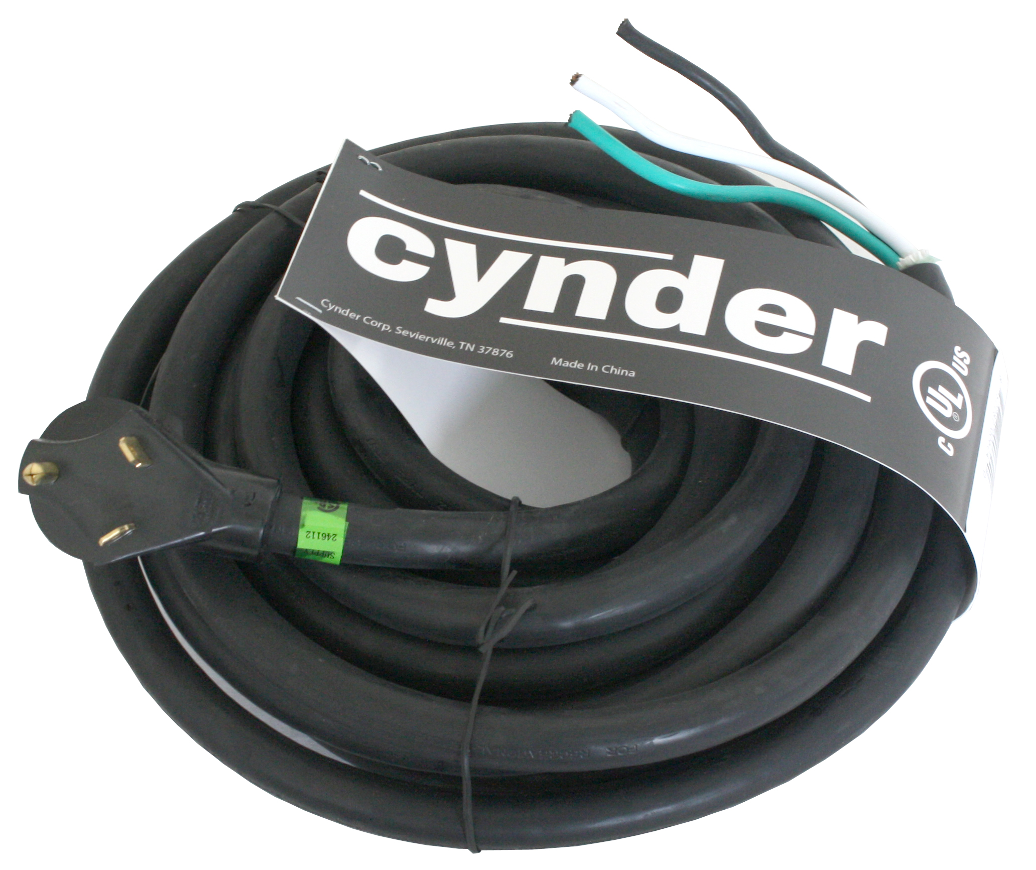 cynder rv replacement power cord 30 amps 25 39 foot male end only. Black Bedroom Furniture Sets. Home Design Ideas