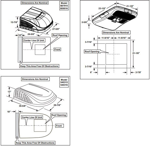 prod_info dometic duo therm brisk air conditioner 13500 btu rv camper trail Dometic RV Thermostat Wiring Diagram at gsmx.co