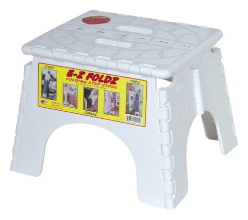Ez Foldz Folding Step Stepping Stool White Rv Camper 8 99