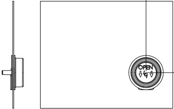 Lippert Components Screen Door Slider Panel with Push-Down