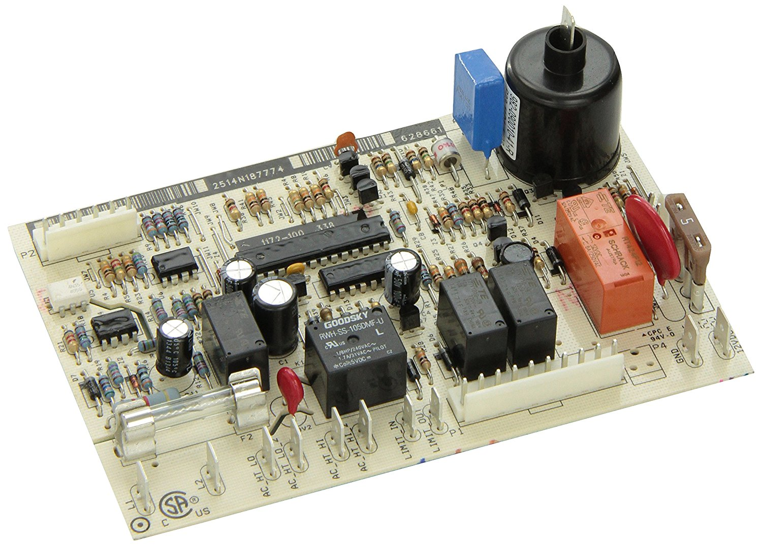 Norcold Refrigerator Power Replacement Circuit Board 11299 Alarm