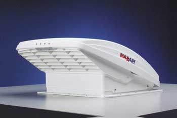 Maxx Fan Maxxair 12 Volt Ventilation System White Rv