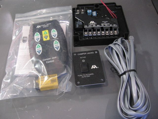 Atwood Truck Camper Jack Wireless Remote Control Kit - $399 99