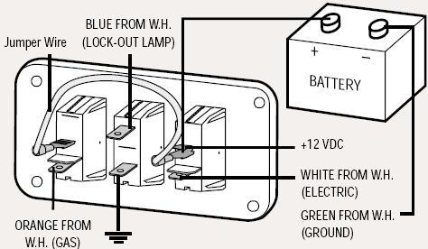 wiring diagram for older trailer dutchmen owners there is also a switch on the rear of the water tank see switch 26 below