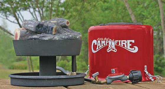 Little Red Campfire Propane Portable Campfire 138 35