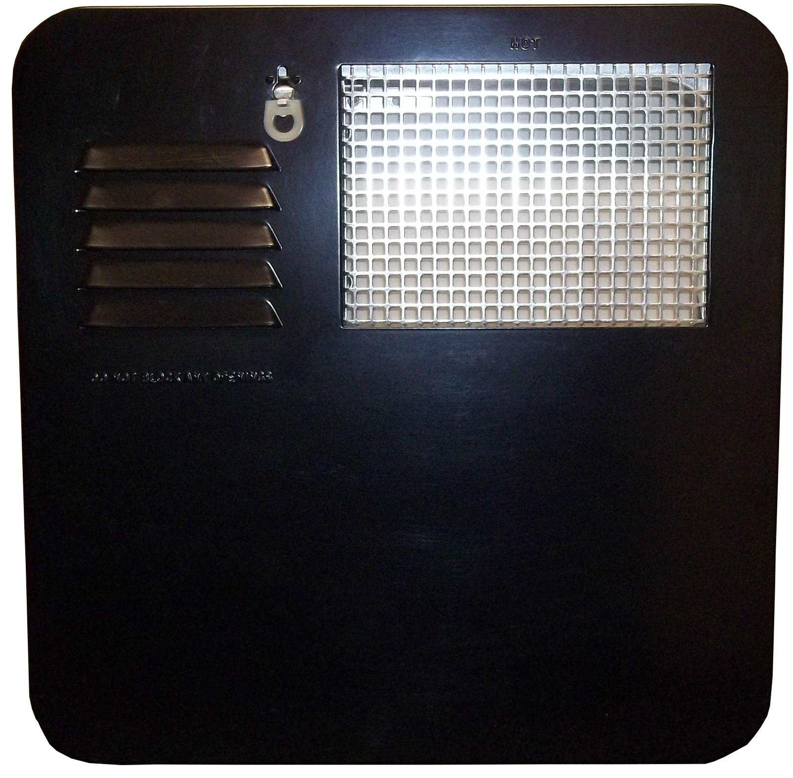 Suburban Rv Water Heater Access Door 4 6 Gallon Black