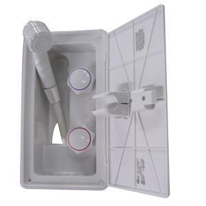 Fontana RV Exterior Shower W/ Locking Door 97023A