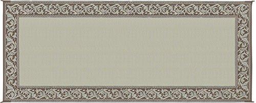 8x20 Reversible Rv Patio Mat Rug Carpet Outdoor Brown Beige