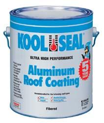Kool Seal Aluminum Roof Coating 1 Gallon 32 99