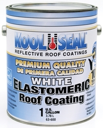 Kool Seal White Elastomeric Premium Roof Coating 1 Gallon